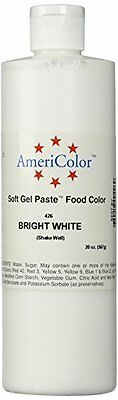 Americolor Gel Food Color, 20-Ounce, Bright White
