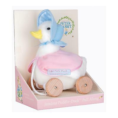 Peter Rabbit Jemima Puddle Duck Classic Pull Along Activity Toy