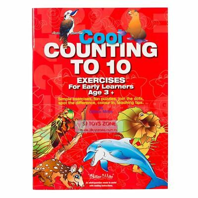 Cool Counting to 10 Exercises Book