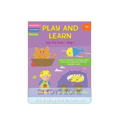 Play and Learn Activity Book - Join the Dots Step 1