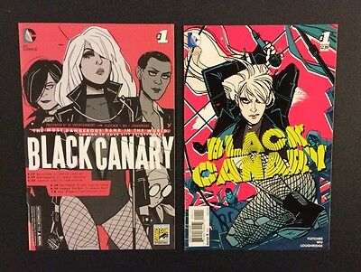 BLACK CANARY #1 Comic Books Regular & SDCC Exclusive VARIANT DC 2015 Green Arrow