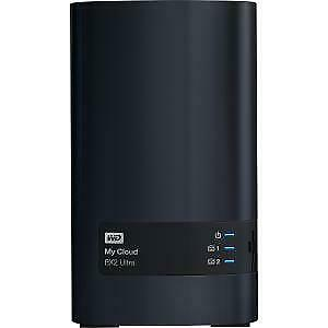 WD My Cloud EX2 2-Bay 12TB Ultra Network Attached Storage w/ 1GB RAM