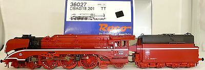Steam locomotive BR 18 201 RED Roco 36027 NIP TT 1:120 HL4 µ