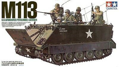Tamiya 35040 1/35 Military Model Kit US M113 Armored Personnel Carrier
