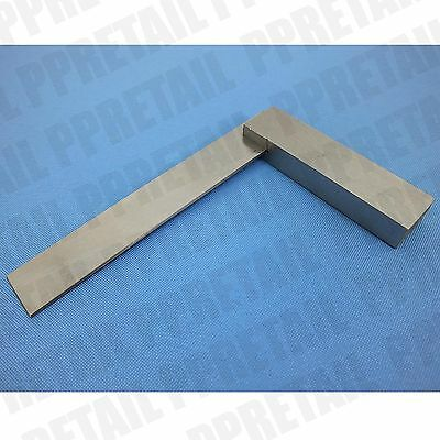 "ENGINEERS SQUARE 4""(100mm) Steel Polished Blades Right Angle Measure Straight"