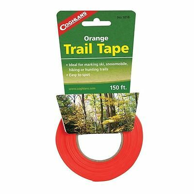Coghlan's Orange Trail Marking Tape Safety Hunting Skiing Hiking Zones Easy See