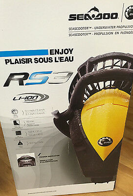 SeaDoo RS3 SeaScooter Scooter Electric Waterproof YELLOW Black SD15003 New