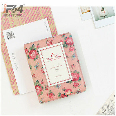 3Inch 64 Pockets Photo Album (Peach)for Polaroid Fuji Instax mini7s/8/25/50/90