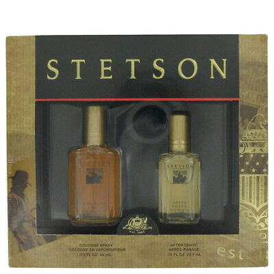 Stetson Gift Set 1.5 oz Cologne .75 oz After Shave by Coty for Men