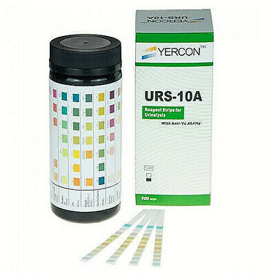 Urine Infection Test 10 Parameter Urine Dip test 100 test strips per pack