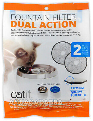 Hagen Cat It Dual Action Carbon Replacement Filters Water Drinking Fountains Dog