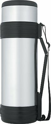 Thermos Nissan Stainless-Steel Bottle with Folding Handle (61 Ounce)