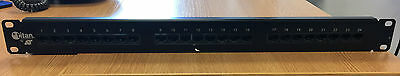Titan 5e 24 Port RJ45 Patch Panel Black