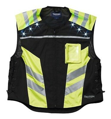 High Visibility Bright Safety Vest with LED Light Technology