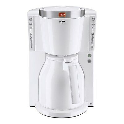 Melitta Look IV Therm Selection 1011-11 Weiss Filter-Kaffeemaschine 1000 W