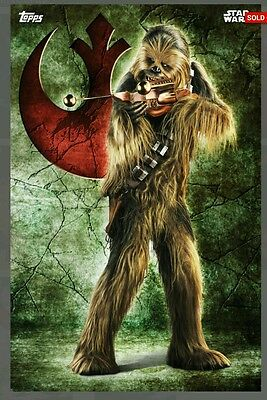 Topps Star Wars Card Trader Galactic Crest Chewbacca