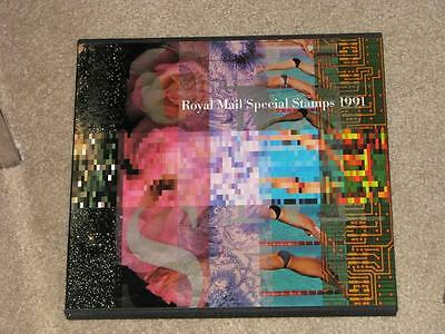 Great Britain-Royal Mail Special Stamps 1991 complete book with dust jacket