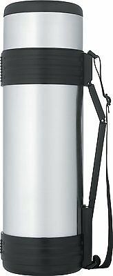 Thermos 61 Ounce Stainless Steel Bottle with Folding Handle