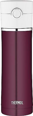 Thermos Stainless Steel Vacuum Insulated Drink Bottle, 16-Ounce, Burgundy