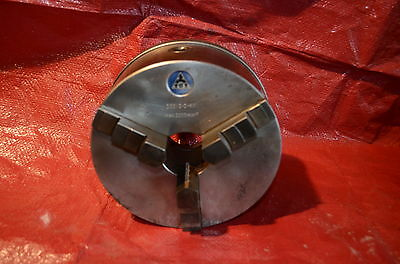 "8"" TOS 3 Jaw Chuck Cam Mount Machine Tool TOS 200/3-2-M1"