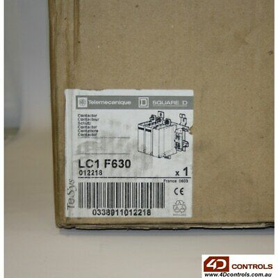 Telemecanique LC1 F630 CONTACTOR 630AMP - New Surplus Open