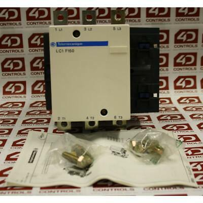 Telemecanique LC1F150 CONTACTOR 600VAC 150AMP IEC +OPTIONS - New Surplus Open