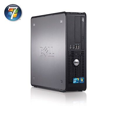 Windows 7 Dell Dual Core/AMD Desktop Tower PC Computer - 4GB RAM - 250GB HDD