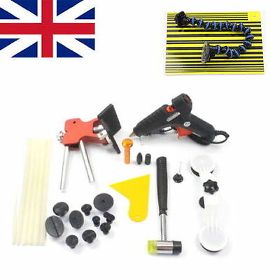 Dent Lifter PDR Tools Paintless Dent Hail Removal Kit Car Body Repair Tabs