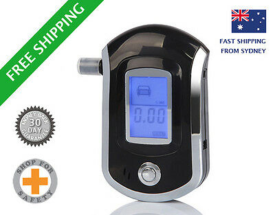 **Compact Digital Breathaliser ** High Quality + Accurate - ships from Sydney