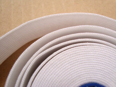 High Quality Woven Elastic,1 1/2 Inch  Wide Approx, White/Black Various  Lengths
