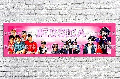 """iCarly Poster Banner 30/"""" x 8.5/"""" Personalized Custom Name Printing for Kids"""
