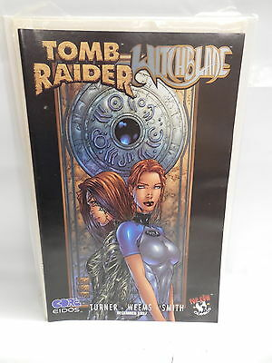 Tomb Raider Witchblade Top Cow Comic Book Michael Turner Variant Cover