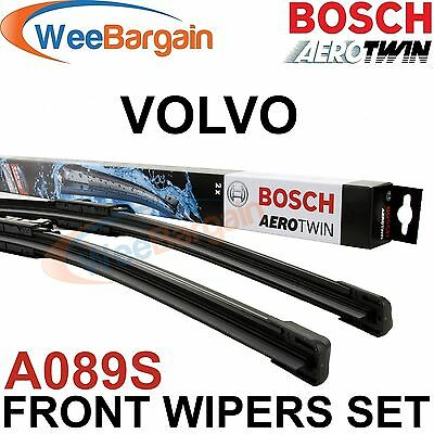 VOLVO Multilple Models NEW Genuine BOSCH A089S Aerotwin Front Wiper Blades Set