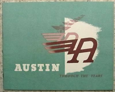 AUSTIN History Publicity Brochure 1906-66 Healey