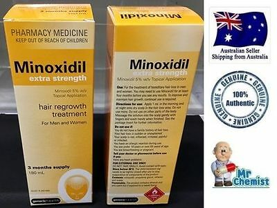 minoxidil extra strength * *hurry limited time only** ((180 ml)) 3 month supply