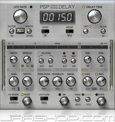 PSP stompDelay Tape Delay Plugin eDelivery JRR Shop