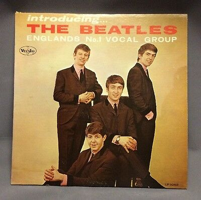 VeeJay Introducing The Beatles LP1062