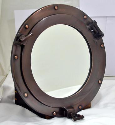 Maritime Vintage Porthole Mirror Nautical Gift Decor Port hole Collectibles