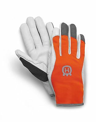 Husqvarna 579380010 Gloves Classic Light Size10 Leather Palm FREE RECORDED POST