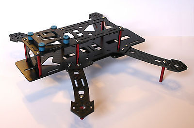 Carbon Fibre 250 (250mm) Racing Quadcopter Frame Kit FPV RC Like Nighthawk Emax