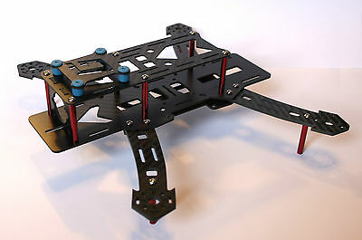 Carbon Fibre 250/280mm Racing Quadcopter Frame Kit FPV RC Drone
