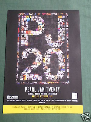 Pearl Jam - Magazine Clipping / Cutting- 1 Page Advert