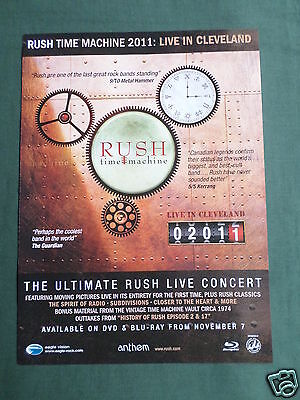 Rush - Magazine Clipping / Cutting- 1 Page Advert -#1