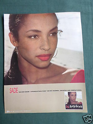 Sade - Magazine Clipping / Cutting- 1 Page Advert