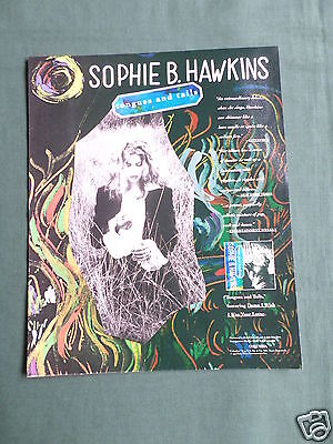 Sophie B. Hawkins - Magazine Clipping / Cutting- 1 Page Advert