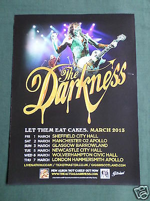 The Darkness - Magazine Clipping / Cutting- 1 Page Advert -#1