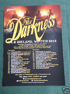 The Darkness - Magazine Clipping / Cutting- 1 Page Advert -#2