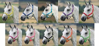 Shires Topaz Nylon Headcollar XXS PONY - EXTRA FULL *ALL COLOURS & SIZES**