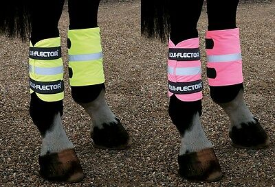 Shires Equi-Flector Wraps Reflective arm or leg bands suitable for both horse &