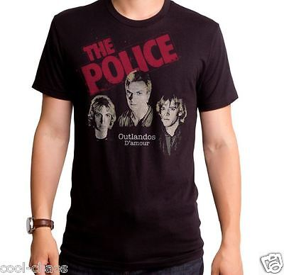 The Police T-shirt / Outlandos D'amour 80's Reissue/Official Licensed Rock Tee